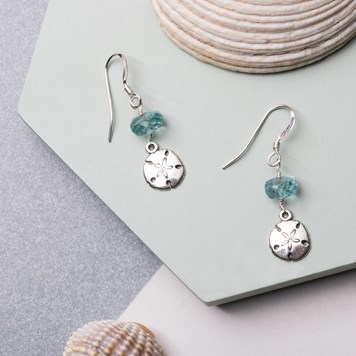sand dollar earring kit