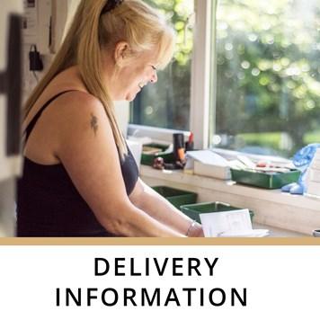 Kernowcraft delivery information