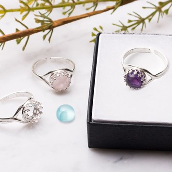 gallery wire rings