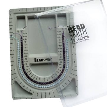 Bead Board With Clear Lid