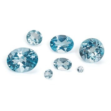Sky Blue Topaz from Kernowcraft