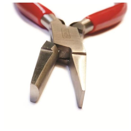 What are half round pliers for