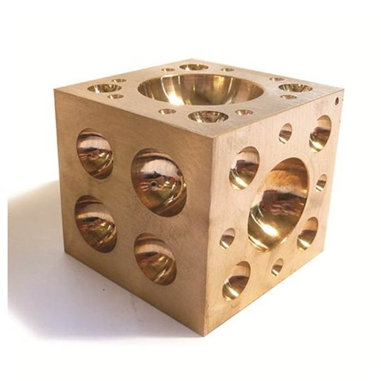 C50 Brass Doming Block