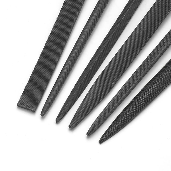 Set Of 6 Needle Files