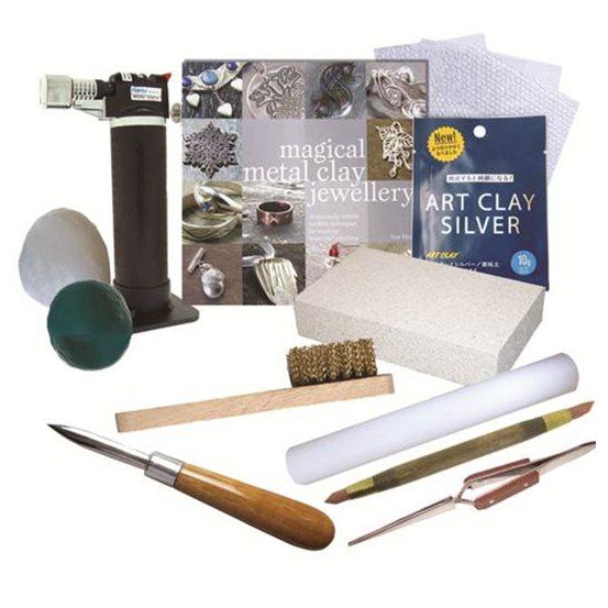 Beginner's Art Clay Silver Kit - Torch Firing