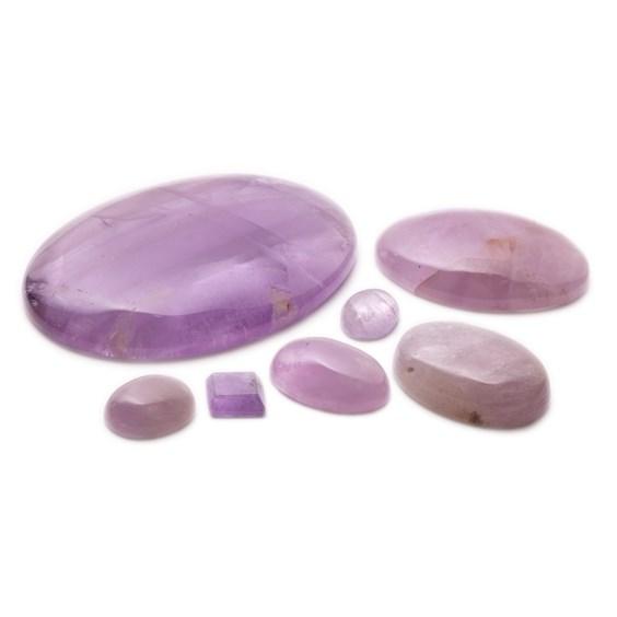 Lavender Amethyst Cabochons