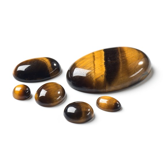 Golden Tiger's Eye Cabochons