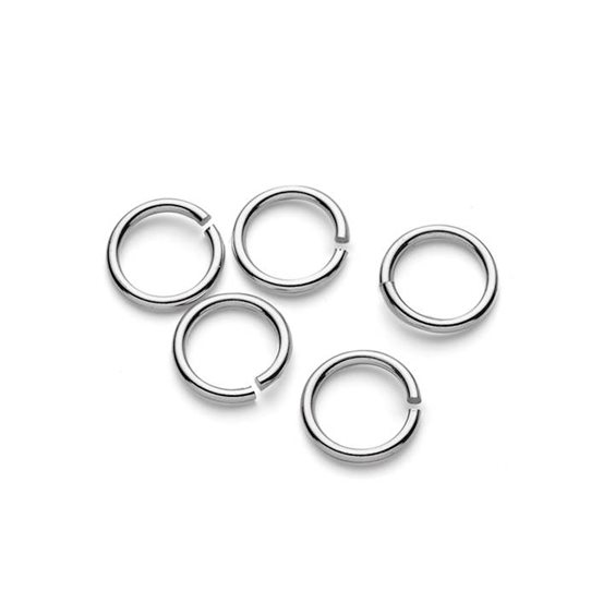 Sterling Silver 10mm Round Jump Rings