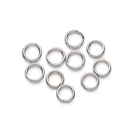Sterling Silver 5.5mm Split Rings
