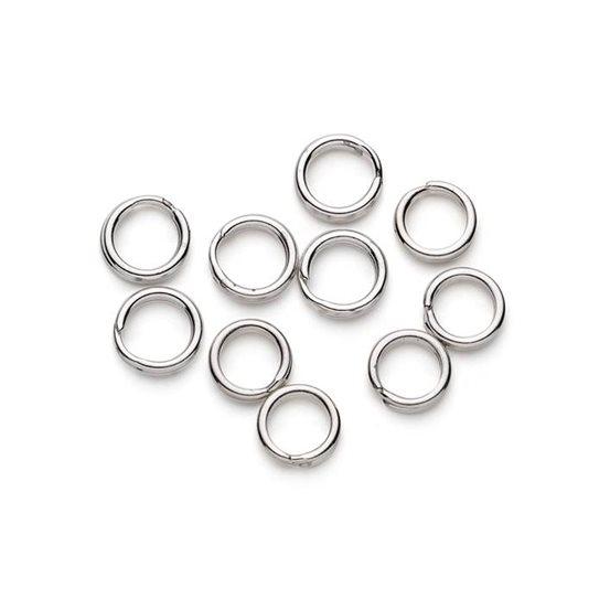 Sterling Silver 5.5mm Split Rings