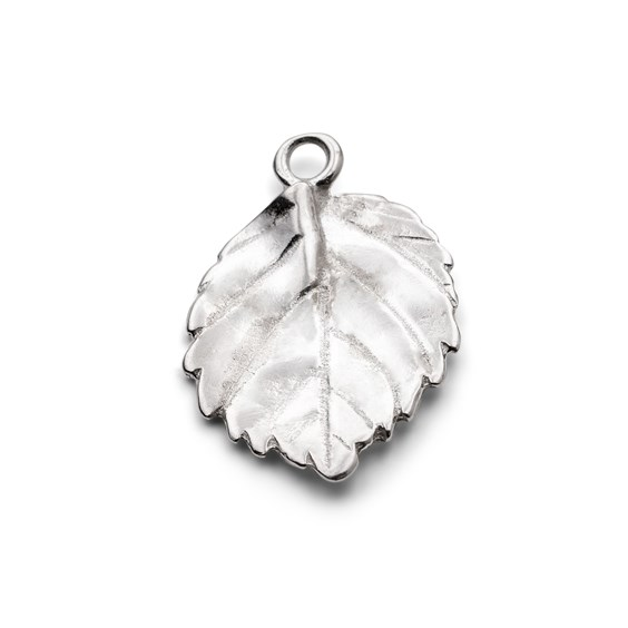 Sterling Silver Leaf Charms