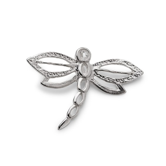 Sterling Silver Large Dragonfly Charm