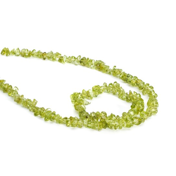 Peridot Chip Beads