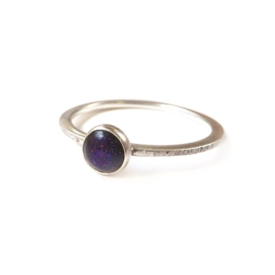 How to make this Blue Goldstone Ring from kernowcraft