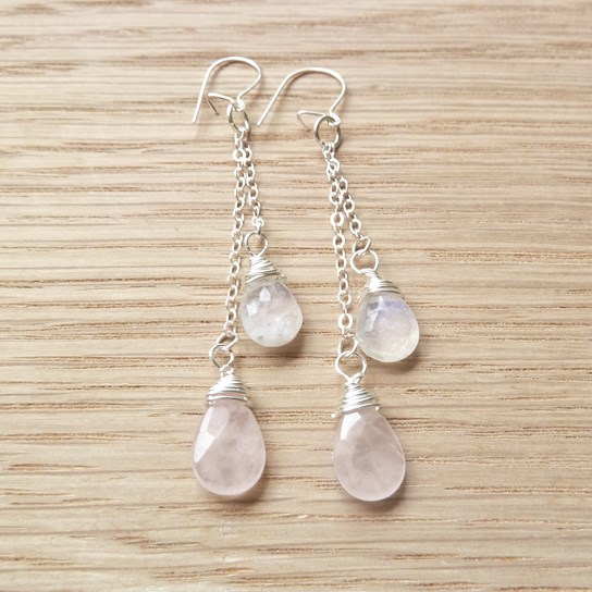 briolette earring example two