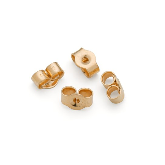 9ct Gold Medium 5mm Earring Scroll