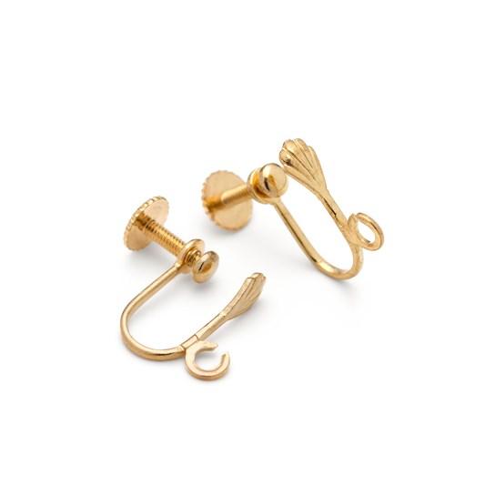 ear screw earrings