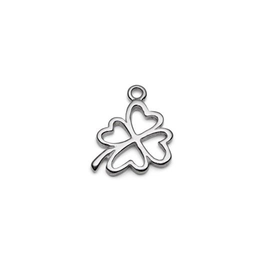Sterling Silver 4 Leaf Clover Charm
