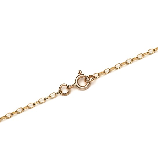9ct Gold Oval Belcher Chain