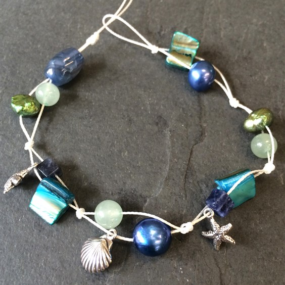 sea-shell-gemstone-bracelet-kids