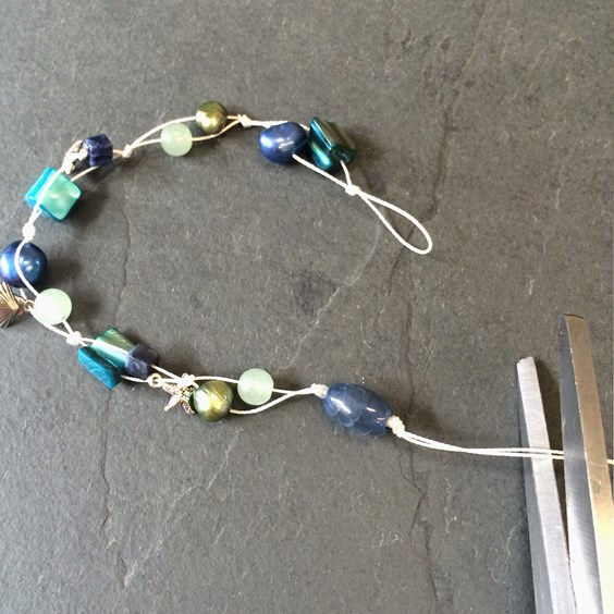 sea-shell-bracelet-step-by-step