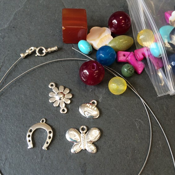 Jewellery Making With The Kids- Kernowcraft