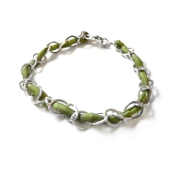 Olive Link Bracelet