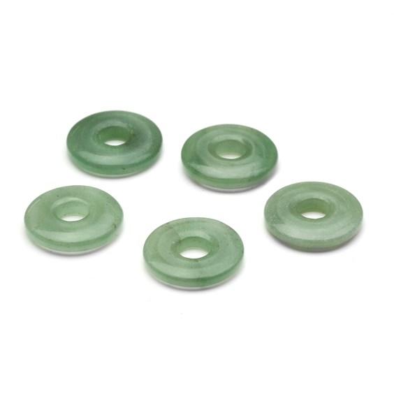 Green Aventurine Gemstone Donut 20mm
