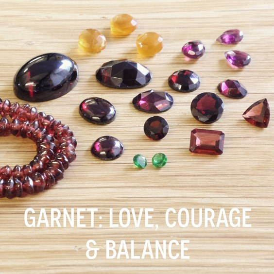 Garnet-the birthstone of January