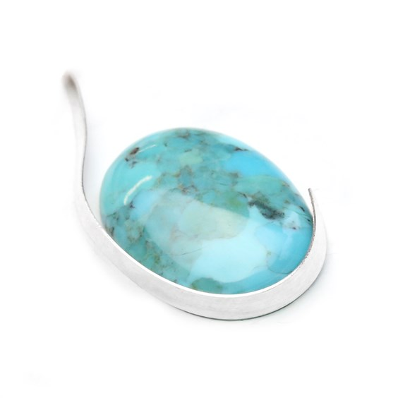 Fine Silver Bezel strip around a gemstone