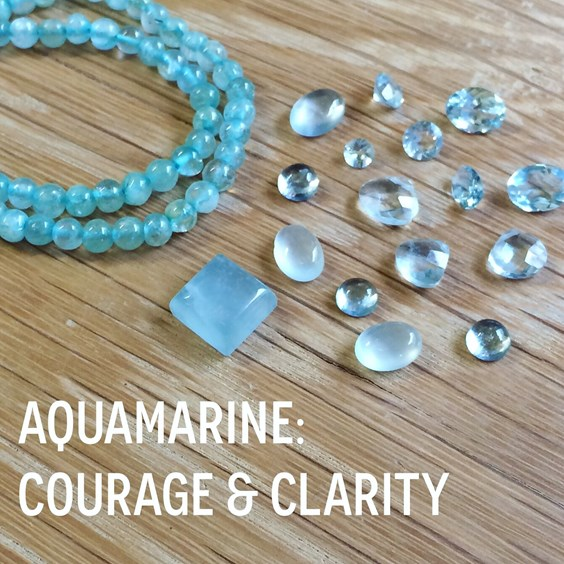 View Aquamarine For Jewellery Making