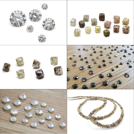 Range of Diamonds For Jewellery Making From Kernowcraft