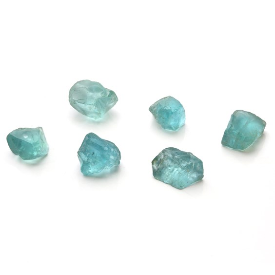 Rough Madagascan Apatite Crystals (Undrilled)