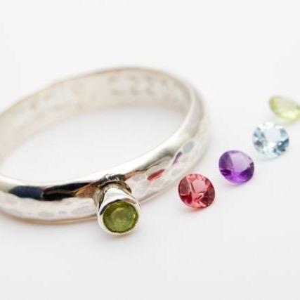 Carole Allen Personalised Gemstone Ring