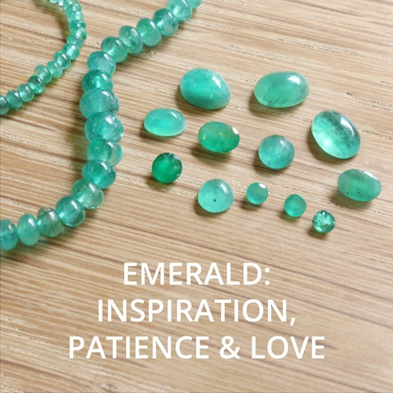 All About Emerald The Birthstone Of May By Kernowcraft
