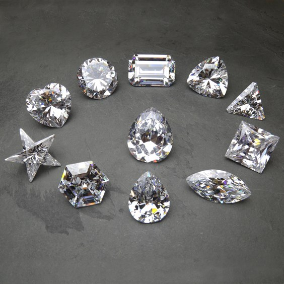 cubic zirconia cullinan Diamond Replica Collection