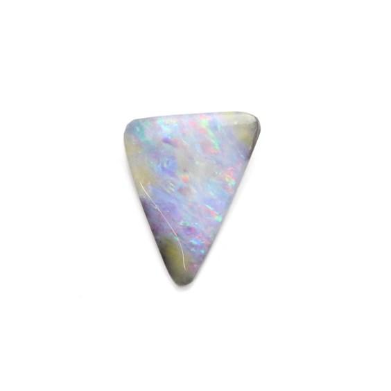Premium Australian Freeform Boulder Opal Cabochon, Approx 15x11.5mm