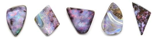 Example of Boulder Opals From Kernowcraft