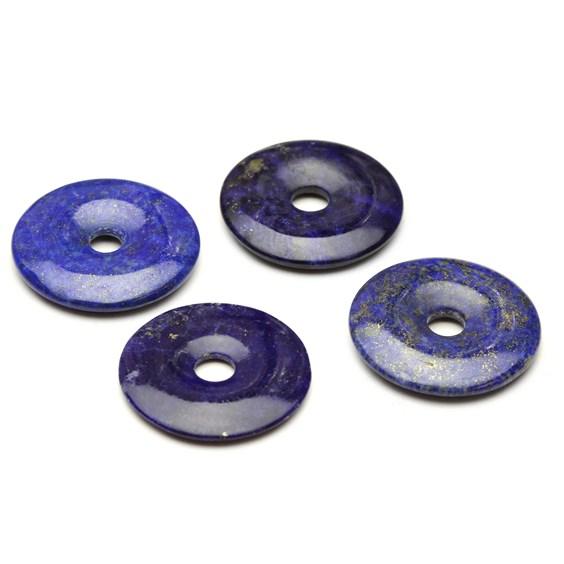 Lapis Lazuli 30mm Gemstone Donuts