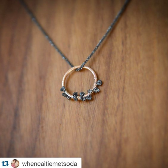 whencatiemetsoda comet catcher necklace