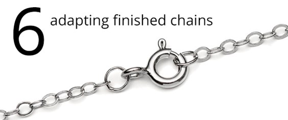 Adapting Finished Chains
