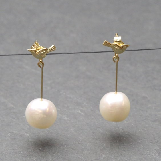 The Night Manager Inspired Pearl Earrings