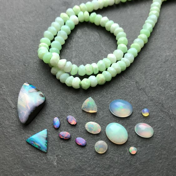 opal for jewellery making