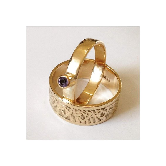 Shelia Kerr Gold Ring