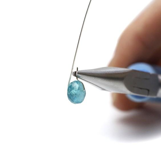 wire wrap bead tutorial