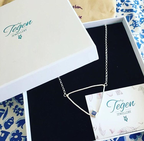 Tegen Jewellery Necklace with Packaging