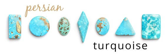 persian natural turquoise cabochons