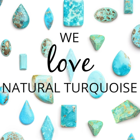 natural turquoise cabochons