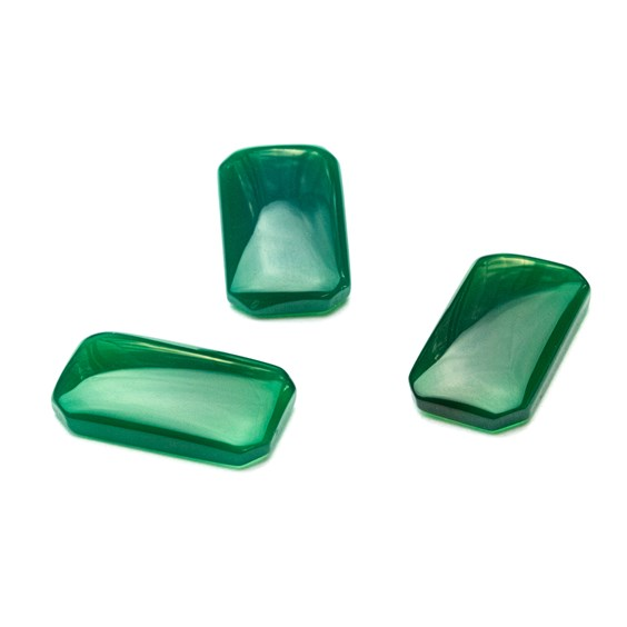 Green Agate Cabochons
