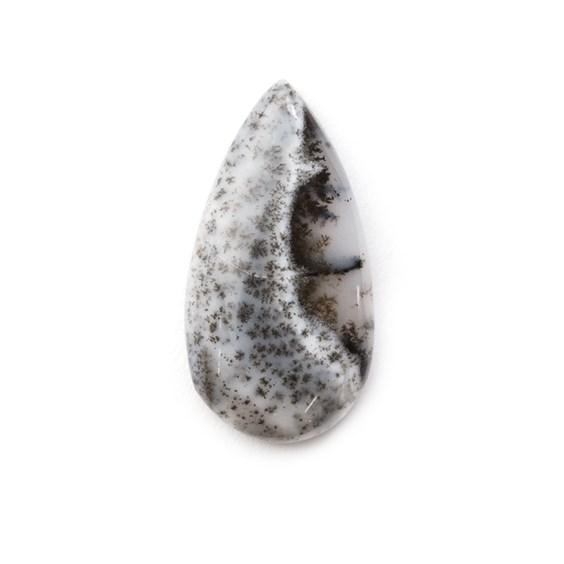 Dendrite Opal Teardrop Cabochon, Approx 22x11.5mm
